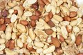 Mixed nuts close up of Royalty Free Stock Photo