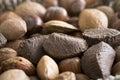 Mixed Nuts Close Up Royalty Free Stock Photo