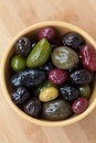 Mixed olives Stock Photo