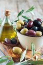 Mixed olives Royalty Free Stock Photo