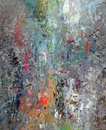 Mixed Paint Abstract Royalty Free Stock Photo