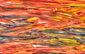 Mixed painted colors Royalty Free Stock Photo