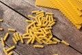 Mixed pasta Royalty Free Stock Photo