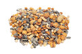 Mixed roasted nuts Royalty Free Stock Photo