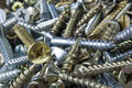 Mixed screws Royalty Free Stock Photo