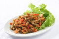 Mixed sour vegetables nyonya style with crushed peanuts called achar Stock Photography