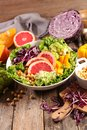Mixed vegetable salad Royalty Free Stock Photo