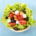 Mixed vegetable salad Royalty Free Stock Photo