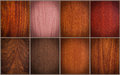 Mixed wood textures Royalty Free Stock Photo