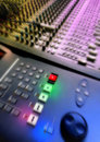 Mixer audio Royalty Free Stock Photo