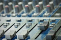 Mixer console Stock Image