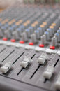 The mixer this is used to mix melodic music Royalty Free Stock Photo