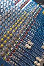 Mixing Desk Royalty Free Stock Photography