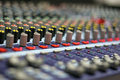 The Mixing Desk Royalty Free Stock Photos