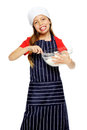 Mixing little chef Stock Photos