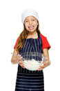 Mixing little chef Stock Images