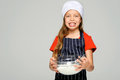 Mixing little chef Royalty Free Stock Photos