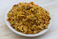 Mixture namkeen indian special traditional salty food Royalty Free Stock Photo