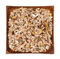 Mixture of seeds for pigeons Royalty Free Stock Photo