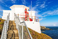 Mizen head lighthouse county cork ireland overlooking the atlantic coast at Stock Photography