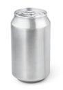 330 ml aluminum soda can Royalty Free Stock Photo