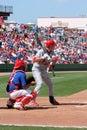 MLB Baseball St Loius Cardinals Vs. Phillies Royalty Free Stock Images