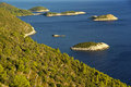 Mljet coast 49 Stock Photography