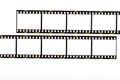35mm. film strip Royalty Free Stock Photo