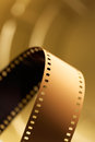 Mm motion picture film unprocessed for cinematography Stock Photo