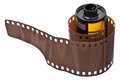 35mm Negative Film Roll Royalty Free Stock Photo