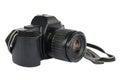 35mm slr camera Royalty Free Stock Photo