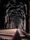 Moab Train Tunnel Stock Image