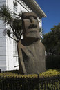 Moai in Vina del Mar Royalty Free Stock Photos