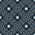 Moasic tiled oriental vector seamless pattern Stock Photography