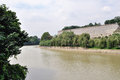 The moat of ancient city wall in nanjing Royalty Free Stock Photo