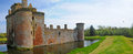 Moat and the castle Stock Photography