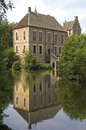 Moated Castle Vorden, Bronckhorst, Netherlands Royalty Free Stock Photo