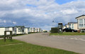 Mobile caravan or trailer park Royalty Free Stock Photography