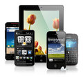 Mobile devices Royalty Free Stock Photo