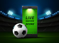 Mobile football and score online