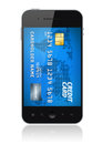 Mobile payment concept Royalty Free Stock Photos