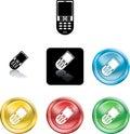 Mobile phone icon symbol Stock Photography