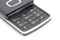 Mobile Phone Keyboard. Royalty Free Stock Photo