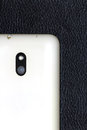 Mobile phone rear camera view Royalty Free Stock Photography