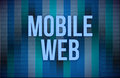 Mobile Web sep concept Royalty Free Stock Photo