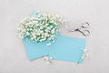 Mockup Of Gypsophila Flowers I...