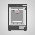 Model of 3D Printer Stock Images
