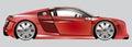Model Car Red. Illustration Of...