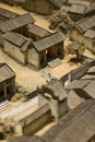 Model of chinese village Royalty Free Stock Photography
