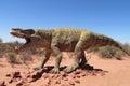 The model of a dinosaur Royalty Free Stock Photo